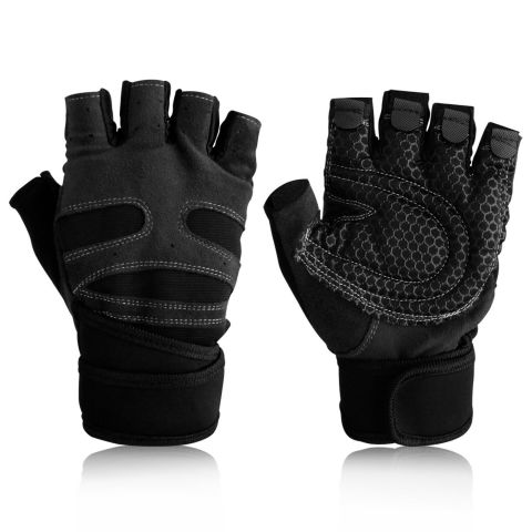 Half Finger Workout Gloves