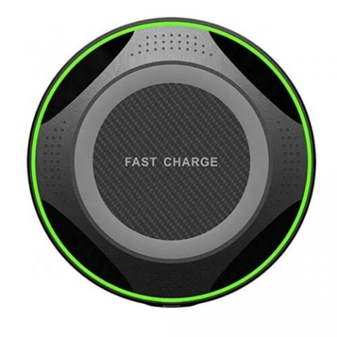 10W Fast Wireless Charger Black / White