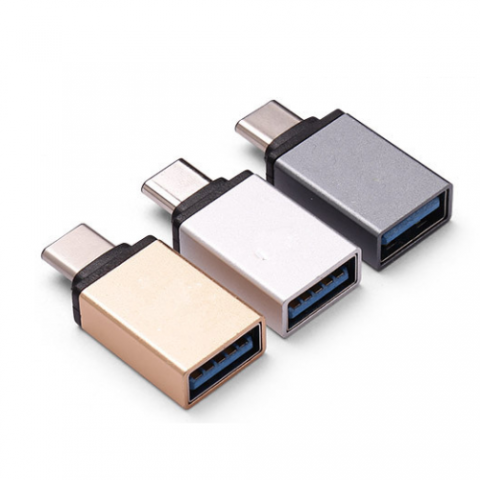 Type C Male to USB 3.0 A Female OTG USB-C Adapter